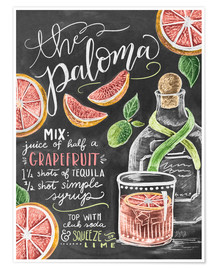 Poster  der Paloma - Lily & Val