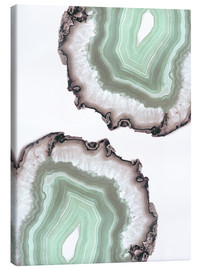 Leinwandbild  Light water agate - Emanuela Carratoni