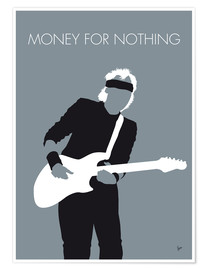 Premium-Poster Mark Knopfler - Money For Nothing