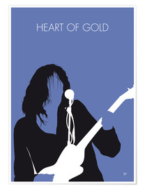 Premium-Poster Neil Young - Heart Of Gold
