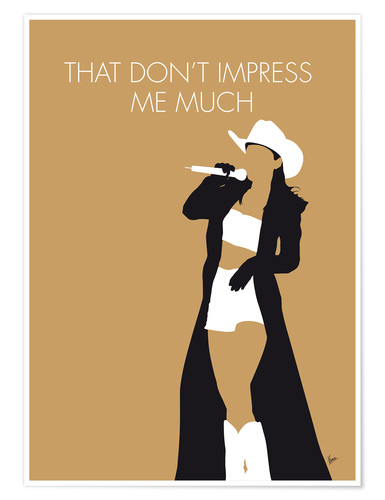 Premium-Poster Shania Twain - That Don't Impress Me Much