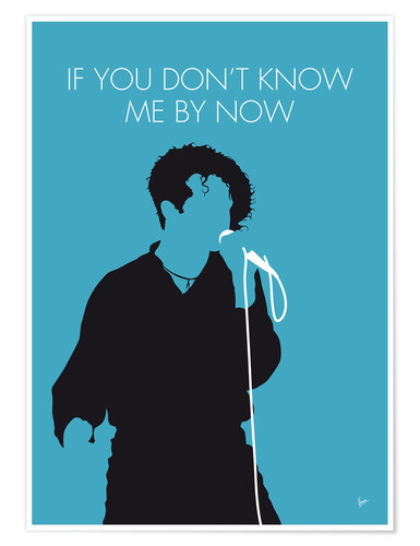 Premium-Poster Simply Red - If You Don't Know Me By Now
