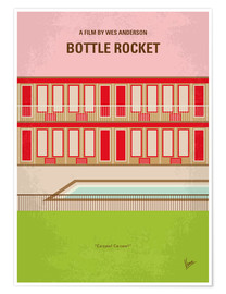 Premium-Poster Bottle Rocket