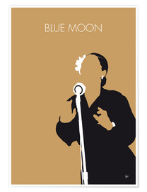 Premium-Poster Billie Holiday - Blue Moon