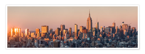 Premium-Poster Manhattan Skyline in New York City, USA