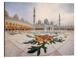 Alu-Dibond  Platz der Sheikh Zayed Grand Mosque