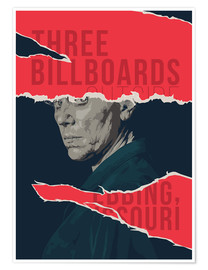 Premium-Poster  Three billboards outside ebbing missouri - Fourteenlab