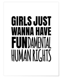 Poster  FUNdamental human rights - Creative Angel
