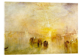 Acrylglasbild  Zum Ball gehen (San Martino) - Joseph Mallord William Turner