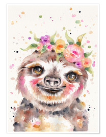 Poster Little Sloth