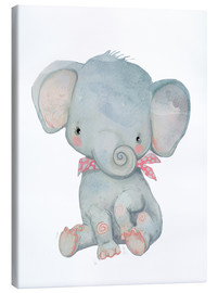 Leinwandbild  Mein kleiner Elefant - Kidz Collection
