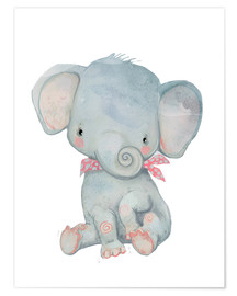 Premium-Poster  Mein kleiner Elefant - Kidz Collection
