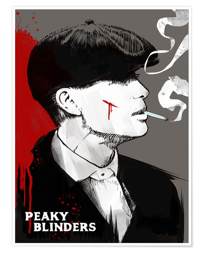 Premium-Poster Peaky Blinders Tommy Shelby