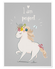 Premium-Poster  Perfektes kleines Einhorn - Kidz Collection