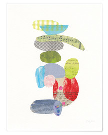 Poster  Gute Laune Balance III - Courtney Prahl