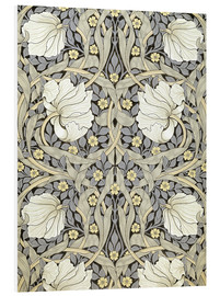 Hartschaumbild  Pimpernell - William Morris