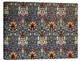 Leinwandbild  Schlangenkopf - William Morris