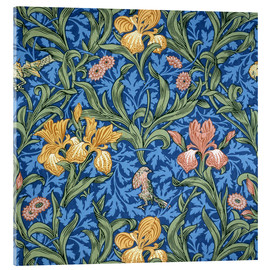 Acrylglasbild  Iris - William Morris