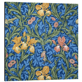 Alubild  Iris - William Morris