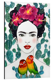 Alubild  Fridas Lovebirds - Mandy Reinmuth