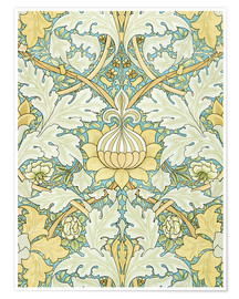 Premium-Poster  Design mit Blumen - William Morris