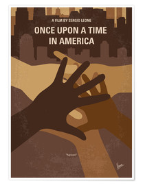 Premium-Poster Once Upon A Time In America