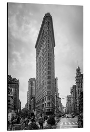Alubild  Flatiron Building in New York City - Axiom RF