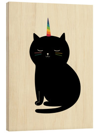 Holzbild  Caticorn - Andy Westface
