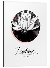 Alu-Dibond  Lotus Motivation - Sonia Nezvetaeva